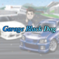 Garage Black Dog