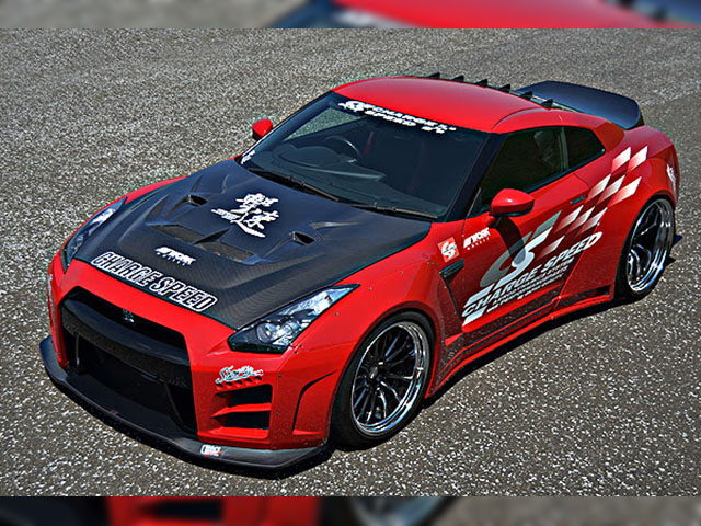 CHARGE SPEED R35 GT-R 撃速WIDE BODY