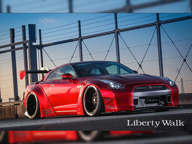 LB★WORKS NISSAN GT-R R35 type 1
