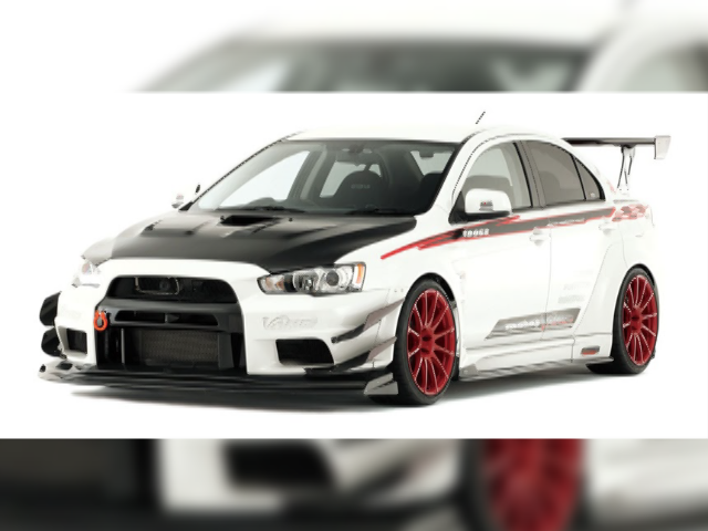 LANCER EVOLUTION X CZ4A WIDE BODY Ver.
