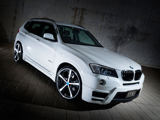 M'z SPEED EXCLUSIVE ZEUS LUV LINE BMW  X3