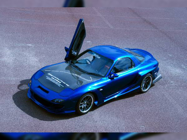abflug Mij RX-7 Wide Body Kit ver.Cv