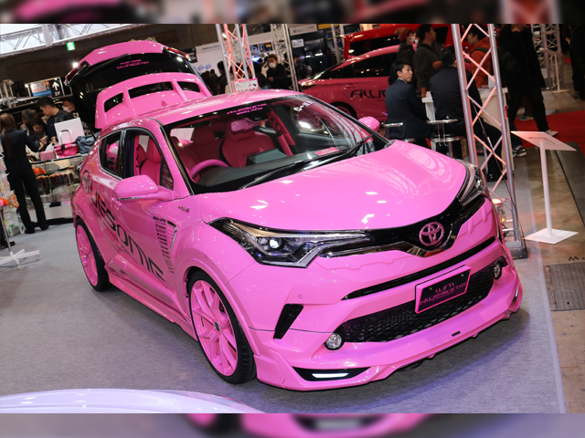 AWESOME PINK☆PINK C-HR