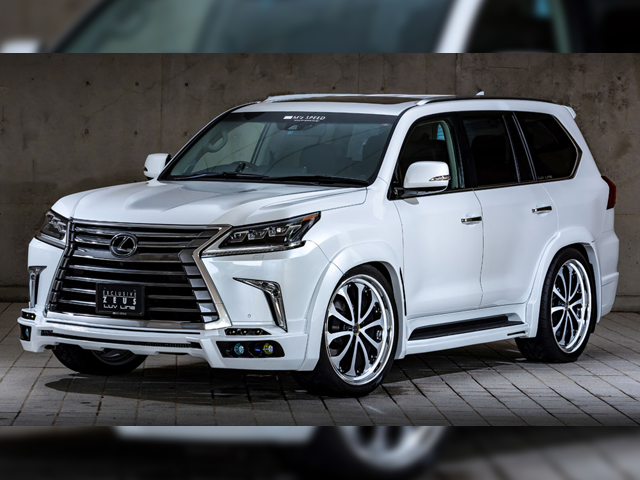 EXCLUSIVE ZEUS LUV LINE LEXUS LX570