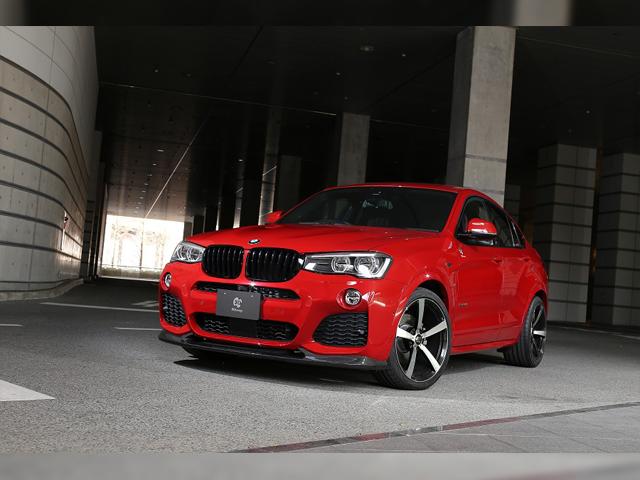 3D Design BMW X4 M-Sport(F26)
