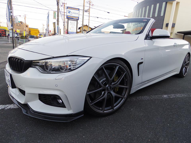GLANZEAL BMW 435i convertible F33