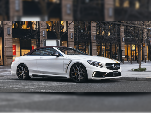 WALD S-class Cabriolet C217