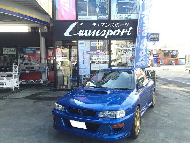 IMPREZA GC8 WRC