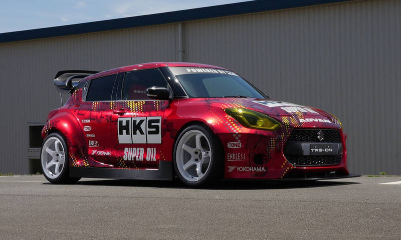 HKS TRB-04