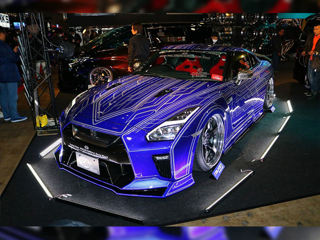 R35GT-R 2018 KUHLJAPAN PROJECT R35GODZILLA,THE LINE SHAKER