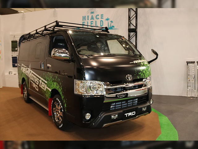 HIACE TRD Field Monster