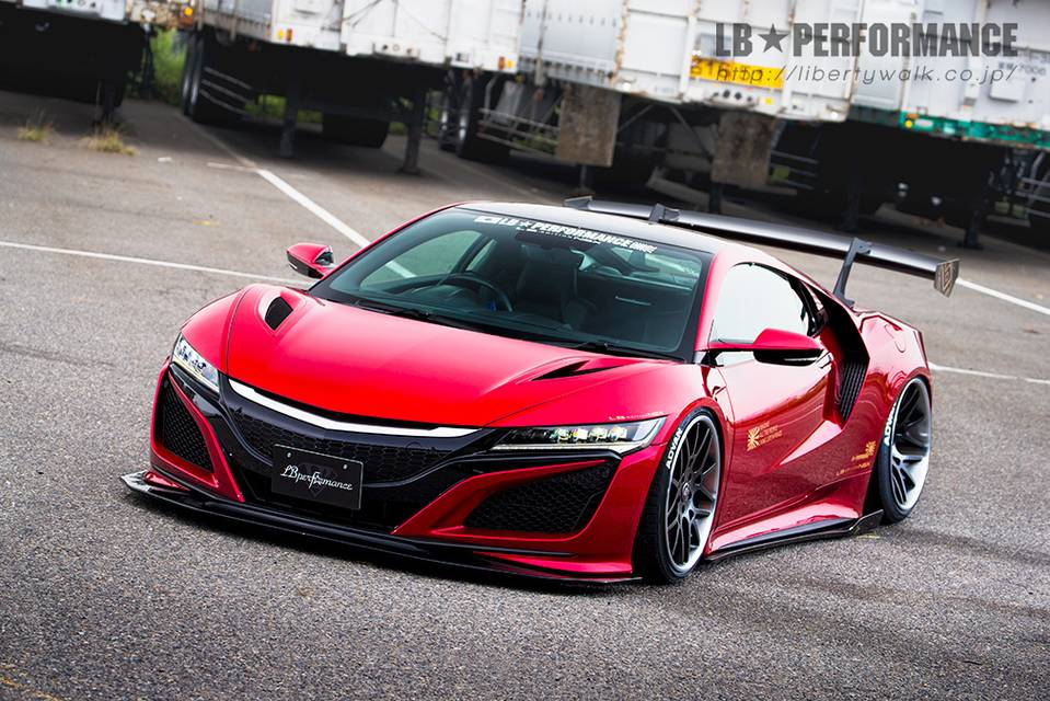 LB★PERFORMANCE HONDA NSX