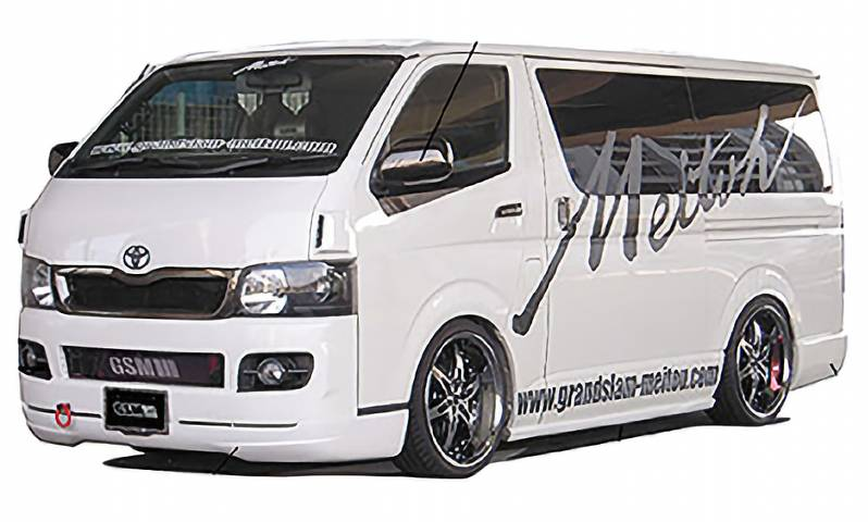 GSM DESIGN REGULAR CUSTOM HIACE1,2型 ナローボディ