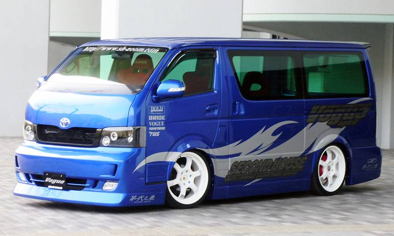 SECONDHOUSE VOGUE HIACE1,2型 ナローボディ