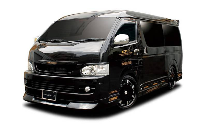 TAKERO'S H200系 HIACE WIDEBODY MIDDLEROOF (1,2型)