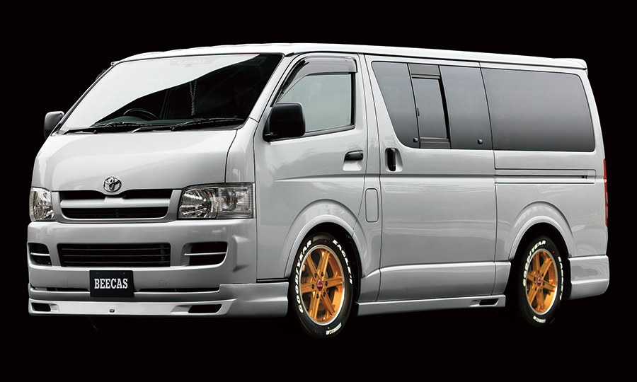 K-BREAK BEECAS ATHLETE HIACE1,2型 ナローボディ