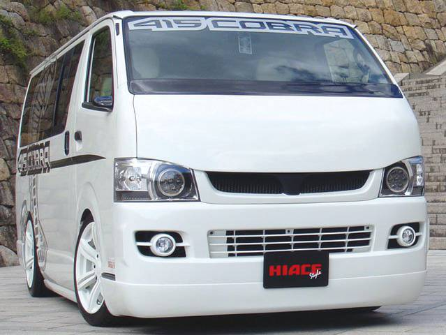415 COBRA CLEAN LOOK HIACE1,2型 ナローボディ