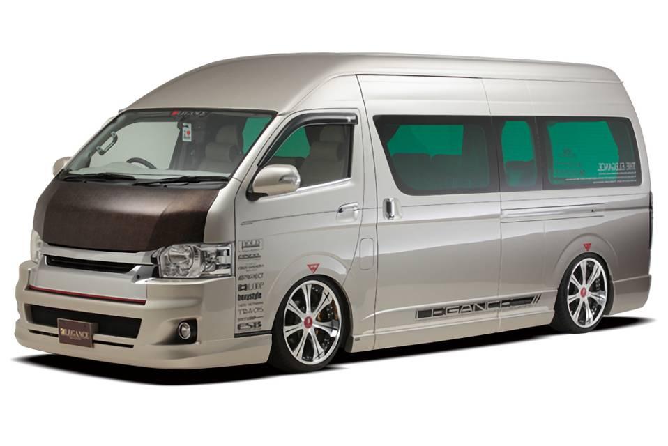 LEGANCE HIACE フルバンパー/ワイドボディ専用