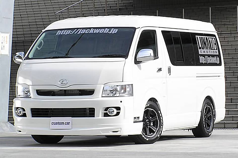 LUNATIC EMOTION HIACE Type200 WIDE