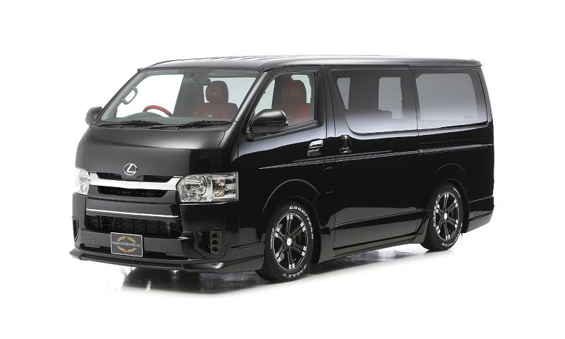WALD EXECUTIVE LINE HIACE4型 ナローボディ