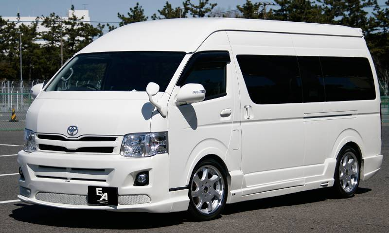 EAC DTM EMOTION F11 HIACE4型 ワイドボディ