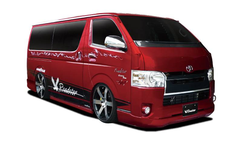 Roadster RUGGER MODEL HIACE4型 ナローボディ