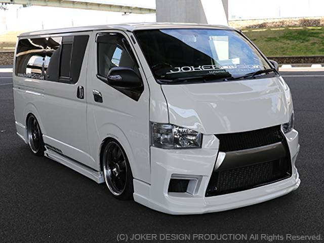 JOKER DESIGN AERO PARTS TYPE NARROW Ⅳ HIACE4型