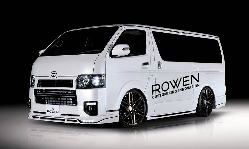 ROWEN PREMIUM Edition HIACE4型 ナローボディ