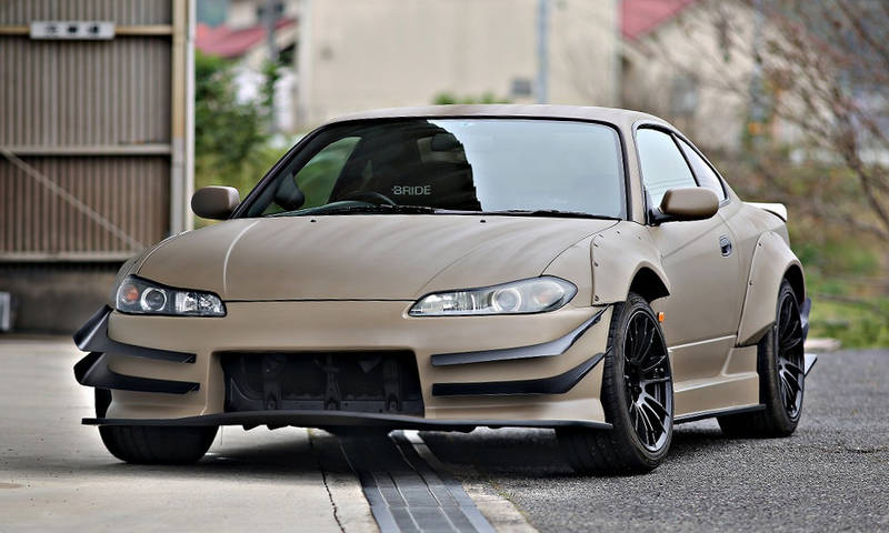 CAR PRODUCE A.K.R DRIFT EDITION NISSAN S15 SILVIA