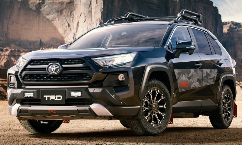 TRD FIELD MONSTER 50 RAV4