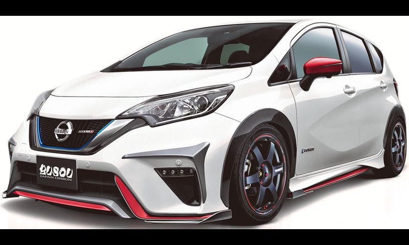 BUSOU JAPAN DESIGN E12 NOTE NISMO
