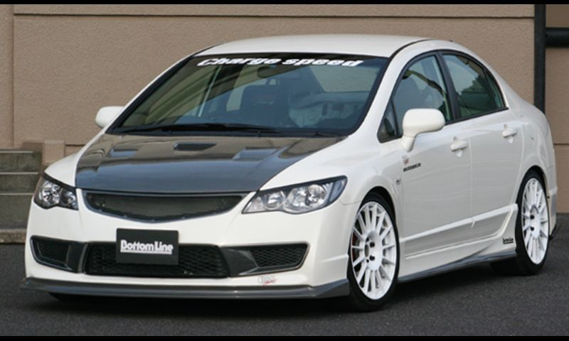 CHARGE SPEED Bottom Line FD2 CIVIC TYPE R