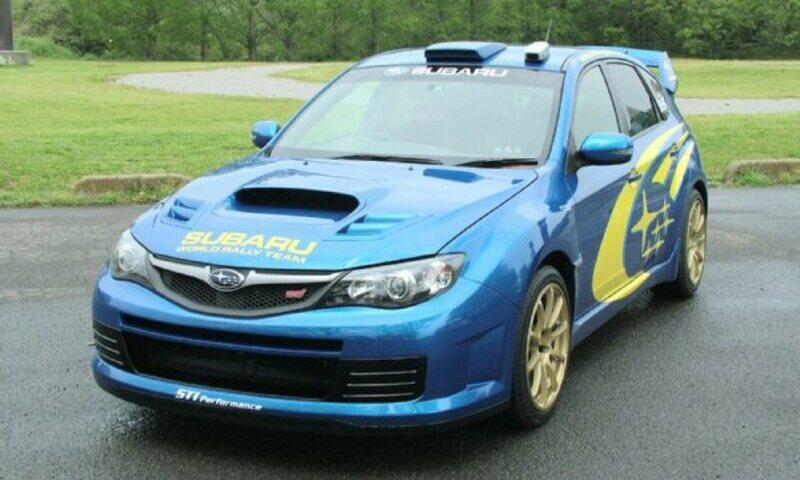 S-CRAFT(ないる屋)WRC'08 GRB IMPREZA WRX STi