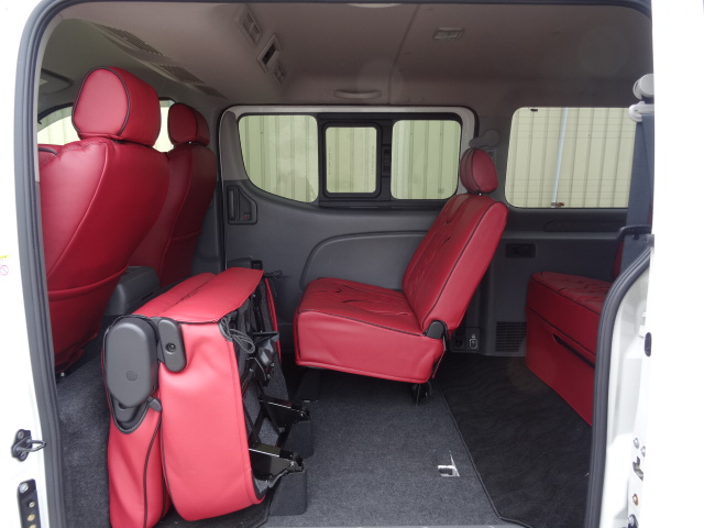 IFUU Industry IF-V8i NV350キャラバンプレミアムGXライダー ナローボディー 正規乗用車ワゴン登録8人乗り施工