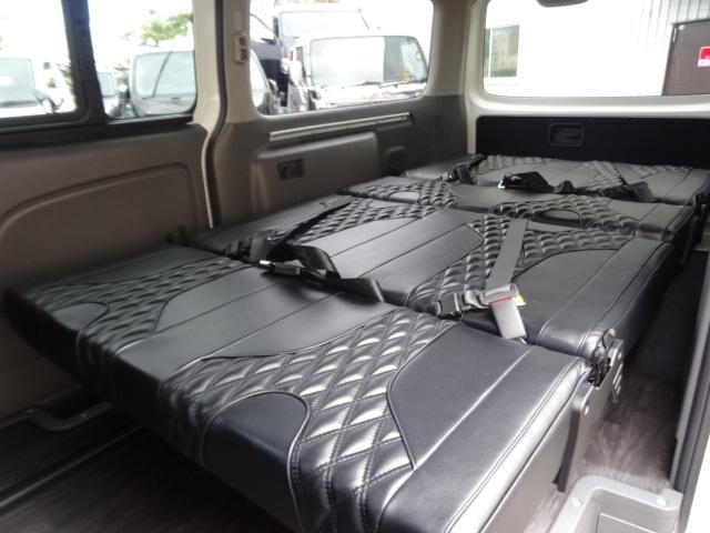 IFUU Industry IF-VR8 NV350キャラバンプレミアムGX ナローボディー 2.0ガソリン T-REVOシート2脚8人乗り施工