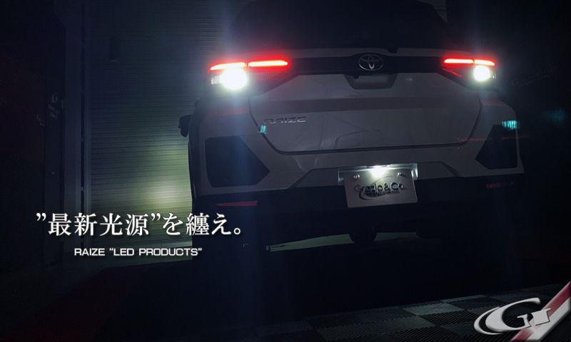Grazio&co. (グラージオ) LEDプロダクト A200A/210A RAIZE
