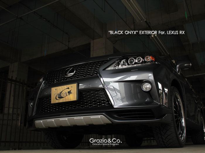 Grazio&co. (グラージオ) BLACK ONYX  1#W LEXUS RX
