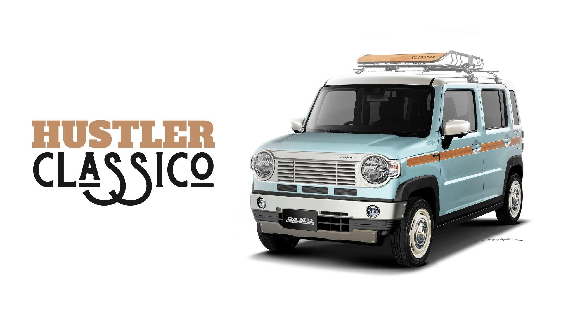 DAMD HUSTLER Classico (ハスラー・クラシコ) MR52S/MR92S ハスラー