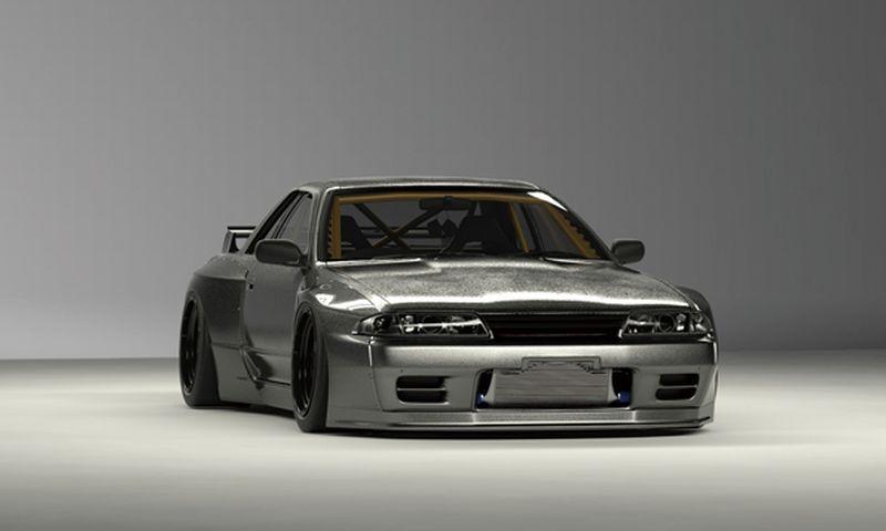 PANDEM BNR32 SKYLINE GT-R