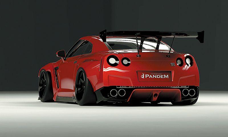 PANDEM GT Wing ver. R35 GT-R