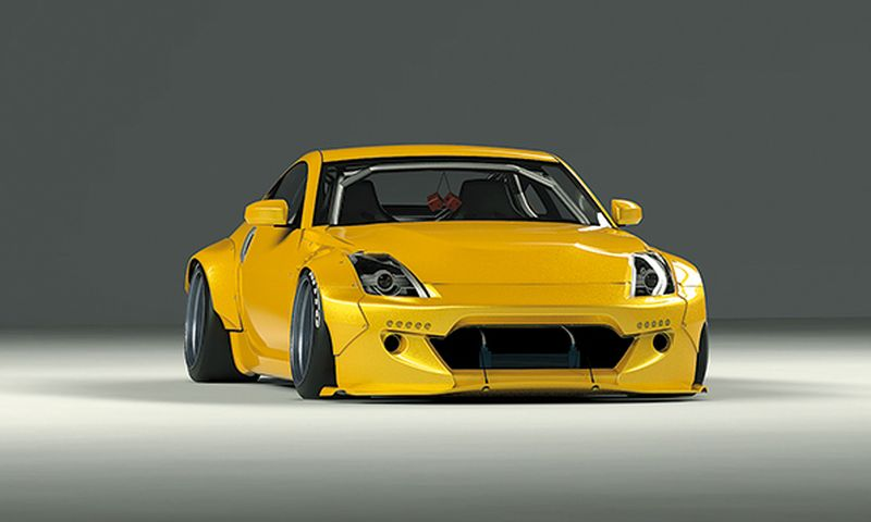 Rocket Bunny Z33 FAIRLADY Z