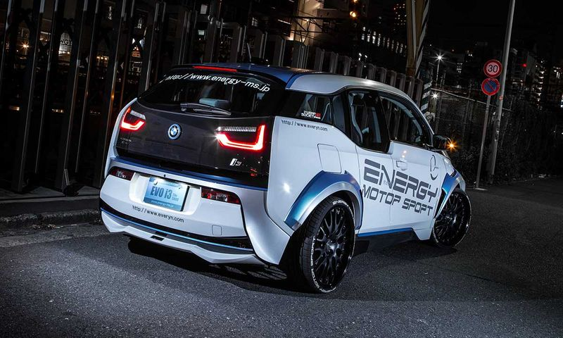 ENERGY MOTOR SPORT EVO i3 BMW i3 I01