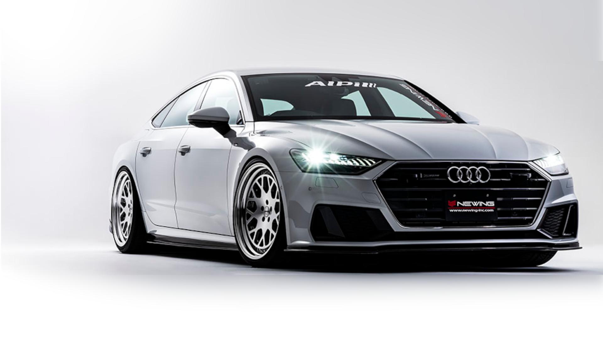 NEWING Alpil A7sportback (F2) Body Kit