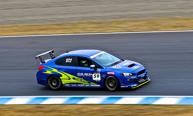 TEAM TOWAINTEC Racing DAMD MOTUL ED WRX STI