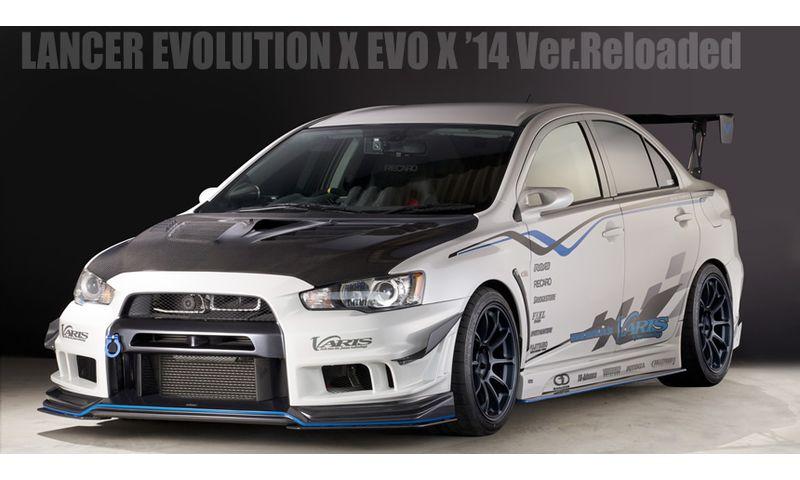 VARIS LANCER EVOLUTION X EVO X '14 Ver.Reloaded