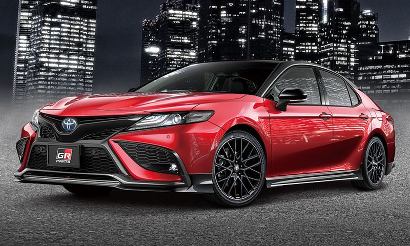 TRD GR PARTS BLACK EDITION 70/75 CAMRY (後期)
