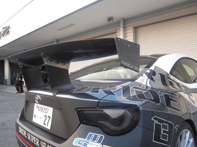 86 (ハチロク) 外装 エアロパーツ リアスポイラー/ウイング ESPRIT トヨタ86 DBA-ZN6 専用GTウイング052