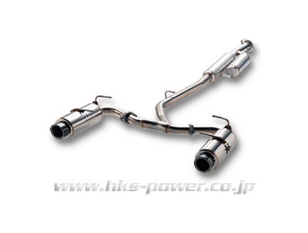 BRZ 排気系 マフラー マフラー本体 HKS Hi Power SPEC L
