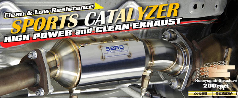 S2000 AP1/2 排気系 触媒 触媒本体 SARD スポーツキャタライザー