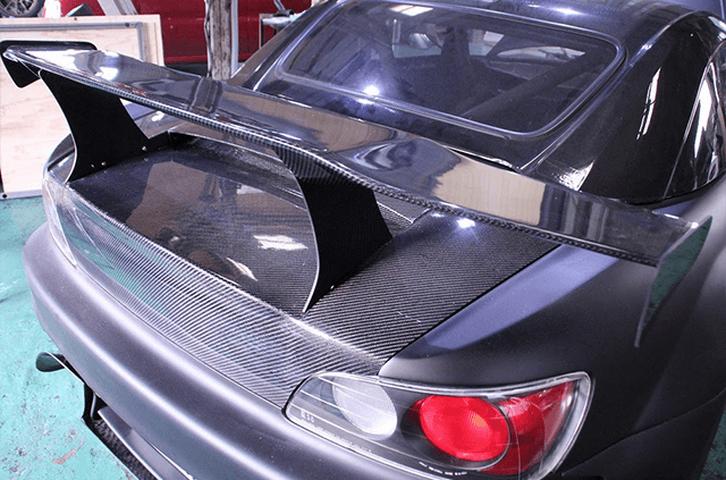 S2000 AP1/2 外装 エアロパーツ リアスポイラー/ウイング Car Garage amis カーボンリアウイング